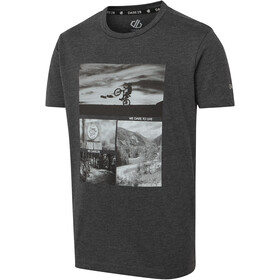 Dare 2b Go Beyond Camiseta Niños, charcoal grey marl